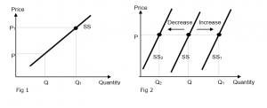 Quantity Supplied vs Supply | JC Econs Tuition Notes Singapore